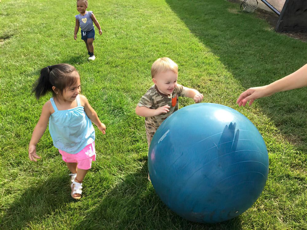 Natural Playgrounds Build Physical Strength