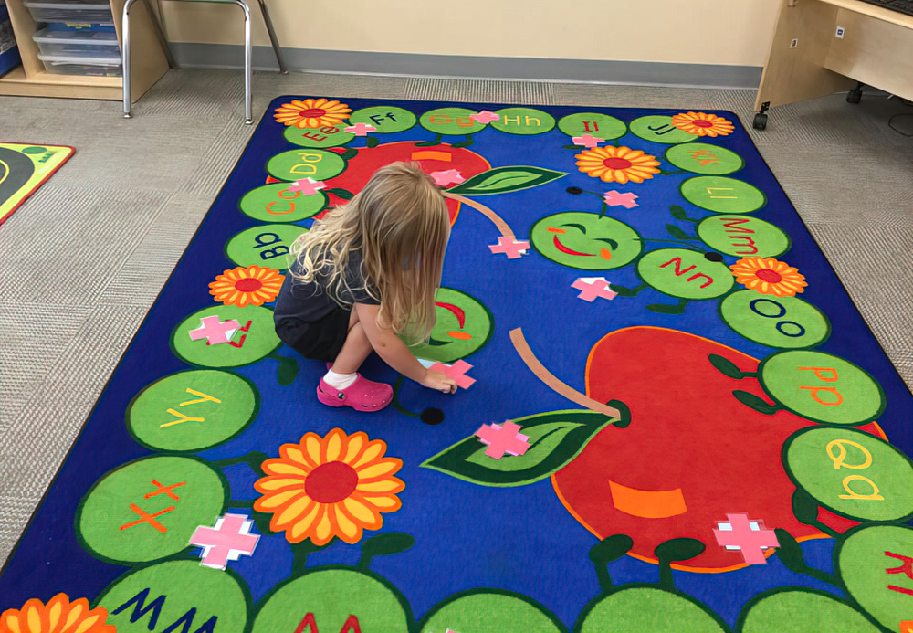 Painted Murals Encourage Imagination And Fun